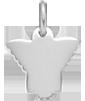 Aniołek 1,5 cm srebrny