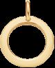 medalik ażur 1,5 cm ZŁOTO ZÓŁTE