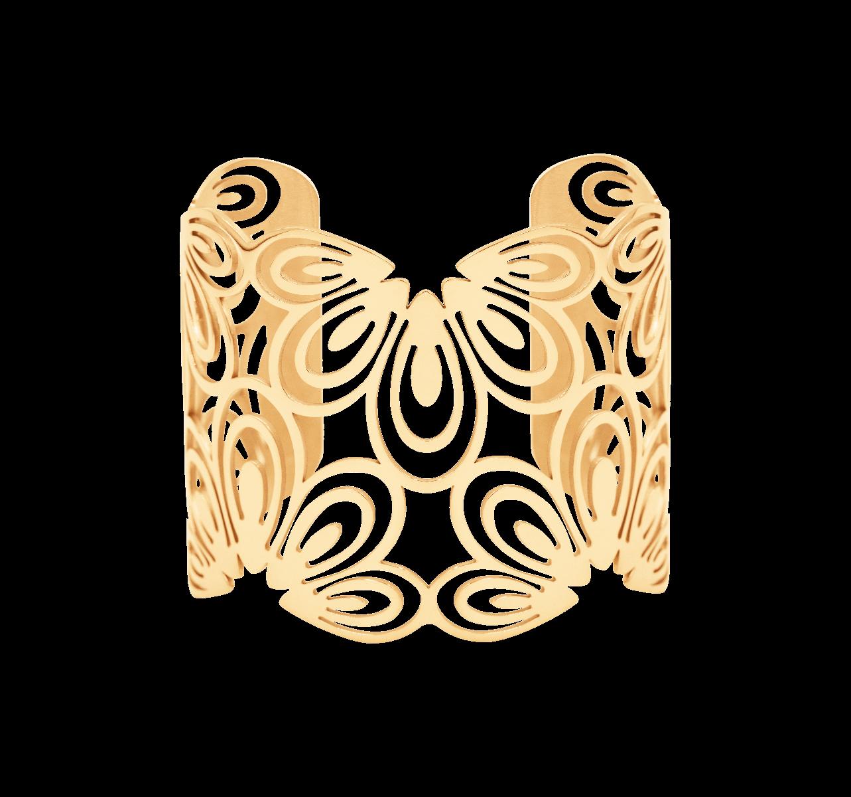 Personalizowana bransoleta Paw pozłacana