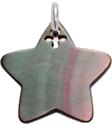 gwiazdka z ciemnej masy perłowej 2 cm SR