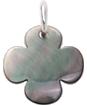 koniczykna okrągła z ciemnej masy perłowej 1,5 cm SR