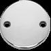 medalik płaski srebrny